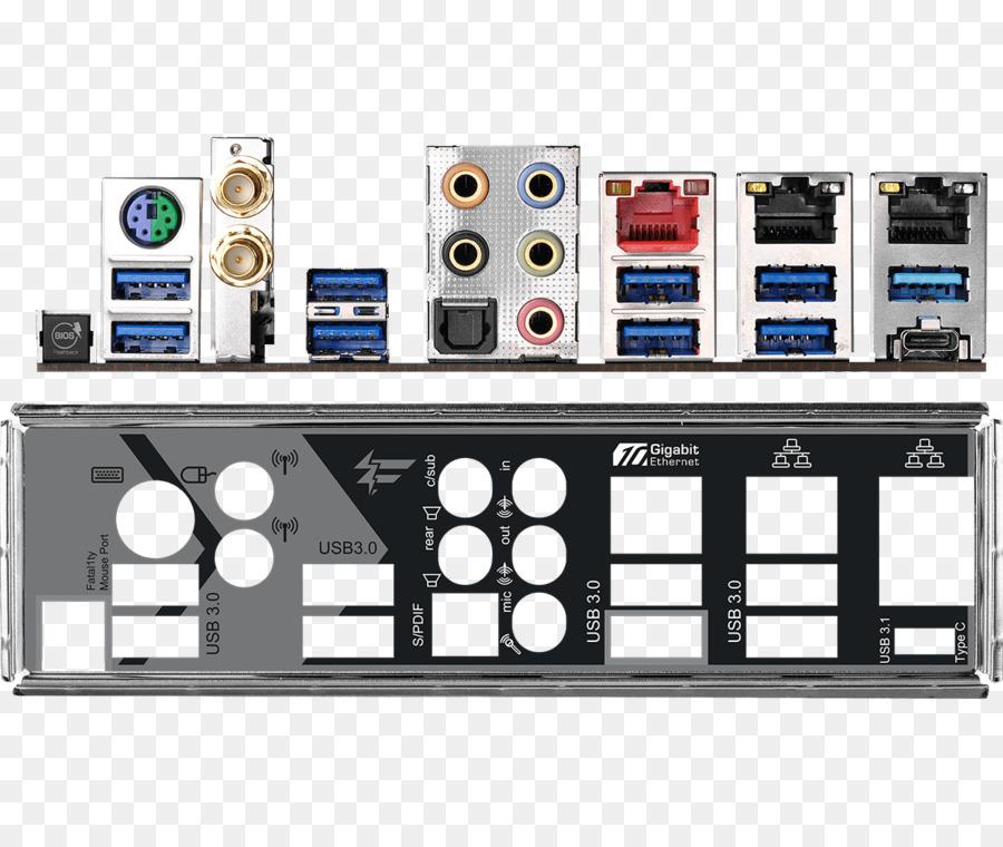 ASRock Fatal1ty X370 Professional Gaming AM4 AMD X370 SATA 6Gb//s USB 3.1 USB 3.0