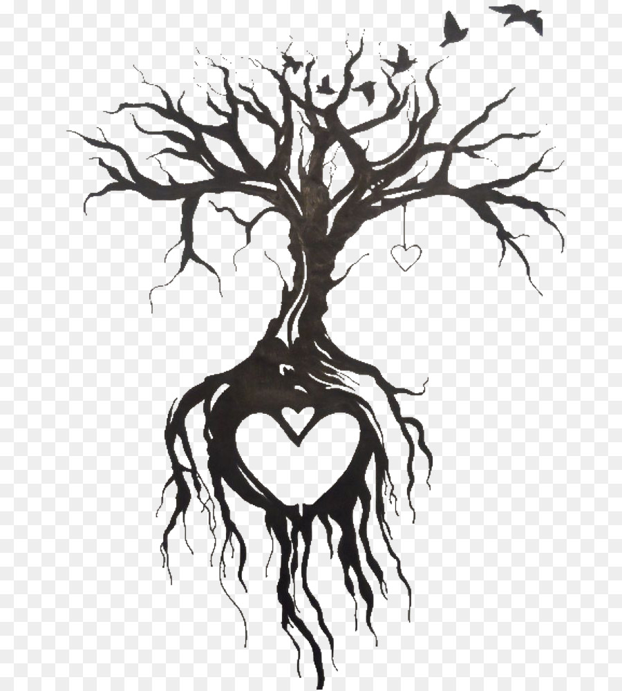 Sleeve Tattoo Drawing Image Idea Black Tree Of Life Tattoo Png