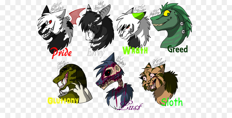 The Seven Deadly Sins Symbol Greed 7 Deadly Sins Wrath Symbol Png