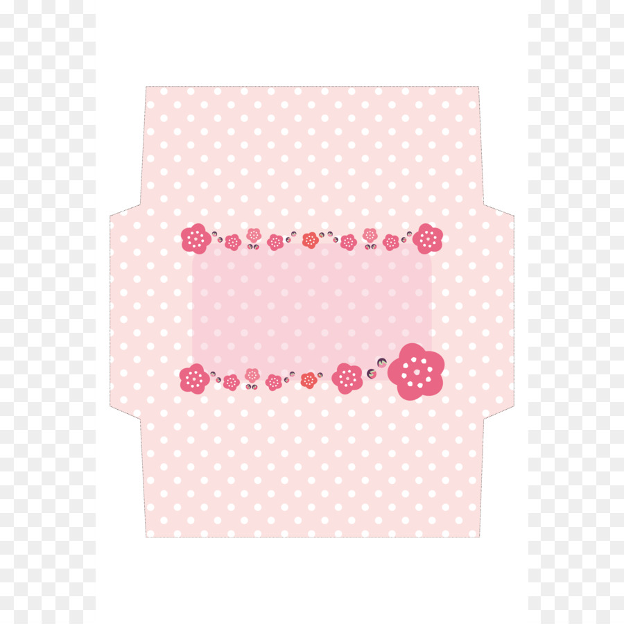 Paper Polka dot Place Mats Pink M - A4 Template png download - 3579 ...