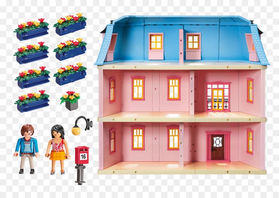 Amazon Com Dollhouse Playmobil Toy Retro Title Box Png Download
