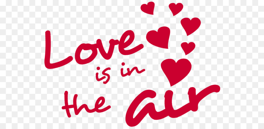 Clip Art Valentine S Day Love Is In The Air Text Met Love Png