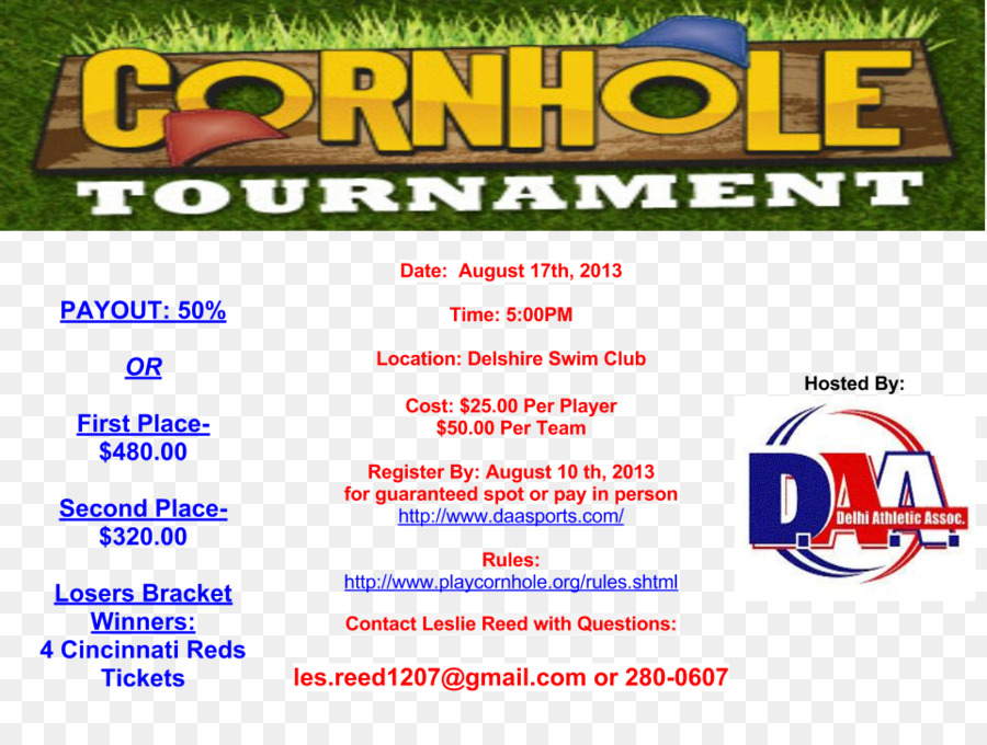 Cornhole Brand Product Tournament Thanksgiving Flyer Template Png