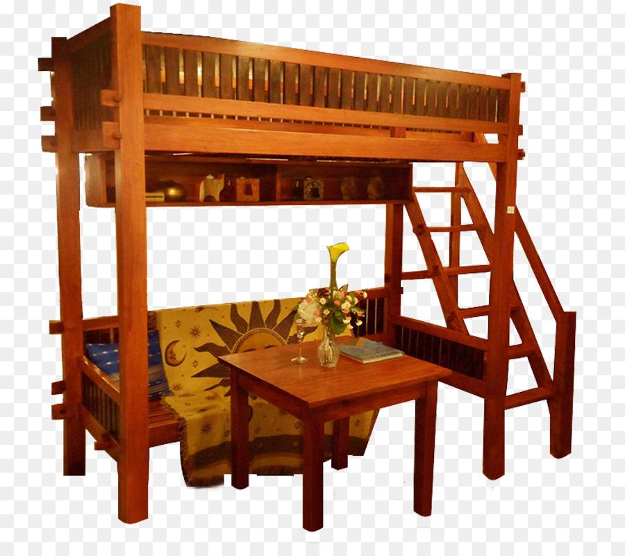 Litera marco de la Cama de los Muebles de Madera - cubierta de ...