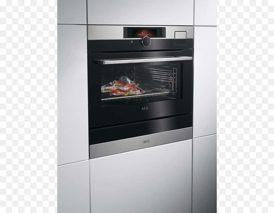 Stoomoven Aeg Self Cleaning Oven Stainless Steel Steam Food Png