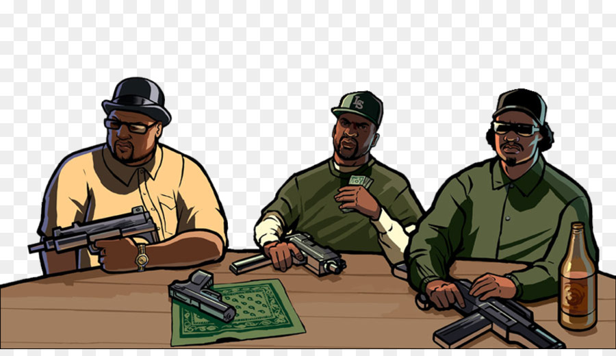 Grand Theft Auto San Andreas Soldier png download - 960*544
