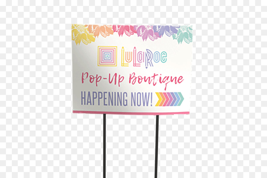 Pop-up retail Pop-up ad Boutique LuLaRoe - Double Sided Visiting Card png download - 600*600 - Free Transparent png Download.