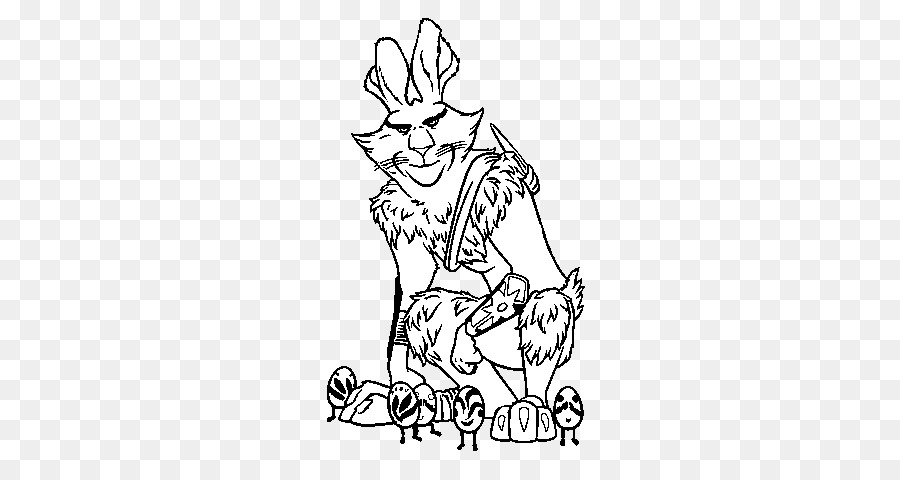 Peri Gigi Jack Frost Bunnymund Easter Bunny Gratis Halaman Mewarnai