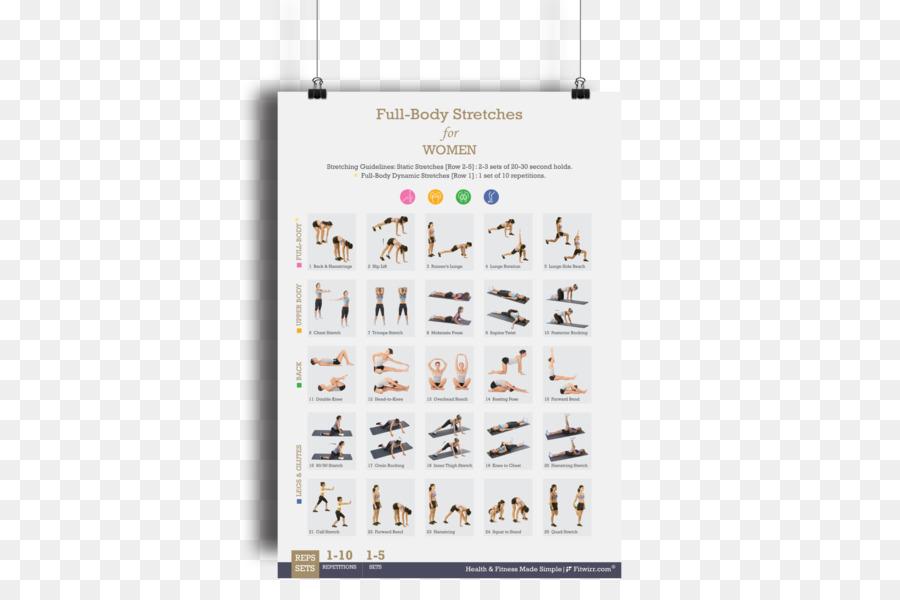 Estiramiento de Peso corporal ejercicios de Flexibilidad con ...