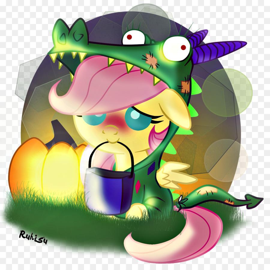 fluttershy rarity halloween rainbow dash pony - long hair fluttering