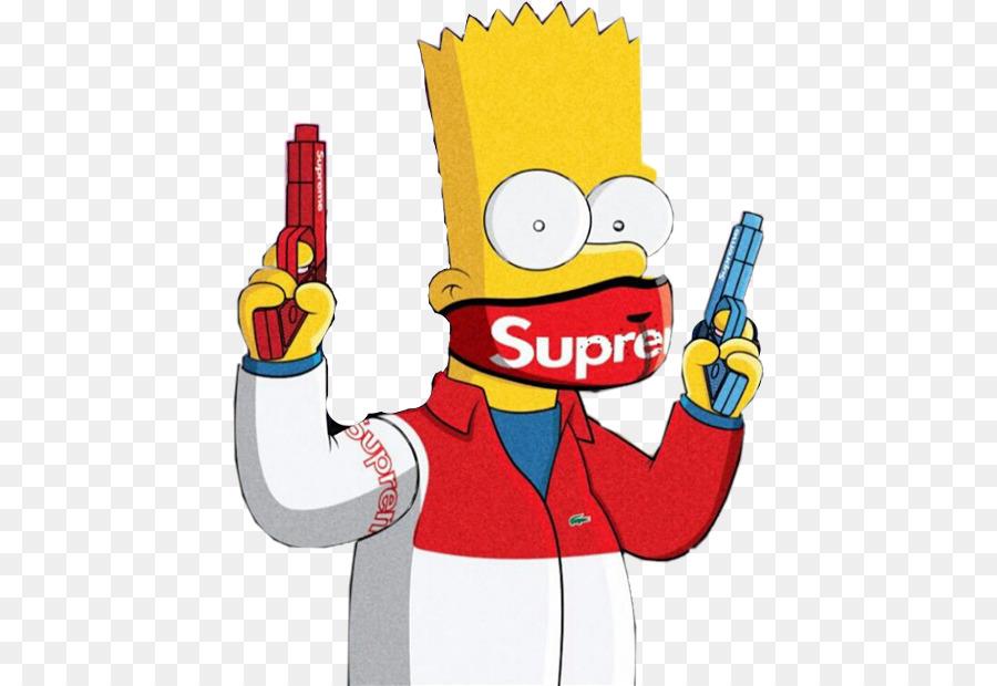 bart simpson homer simpson supremo desenho imagem bart simpson