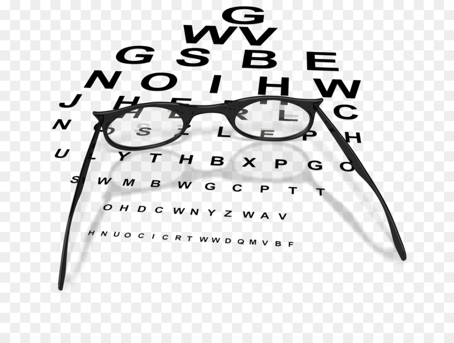 Glasses Clip Art Eye Chart Eye Examination Glasses Png Download
