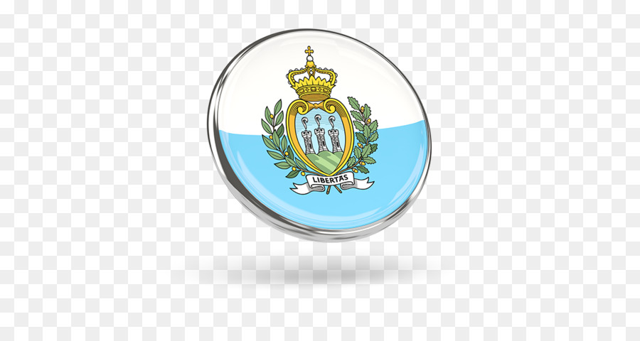San Marino Emblem Pin Badges National flag Product - circular metal ...