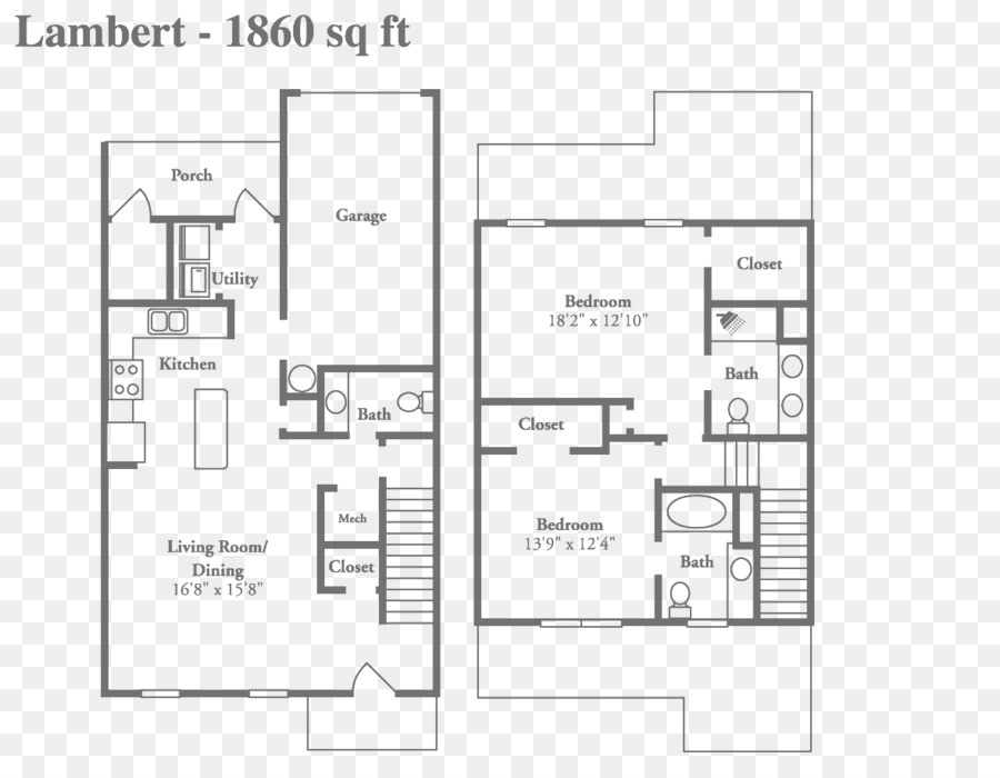 Floor Plan Apartment House Text Png