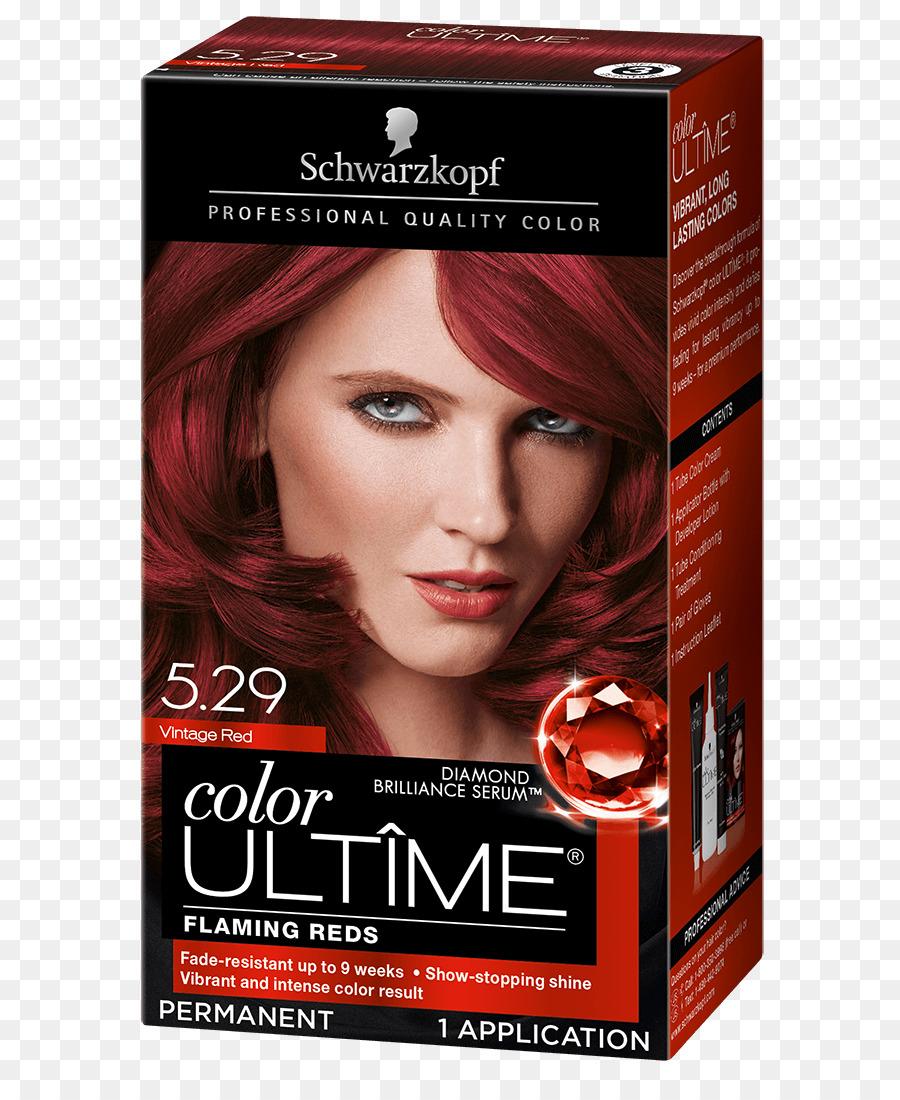 Hair Coloring Schwarzkopf Cosmetics Mahogany Hair Png Download