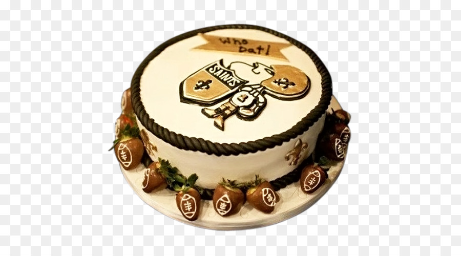 New Orleans Saints Nfl Who Dat Birthday Cake Cake Delivery Png