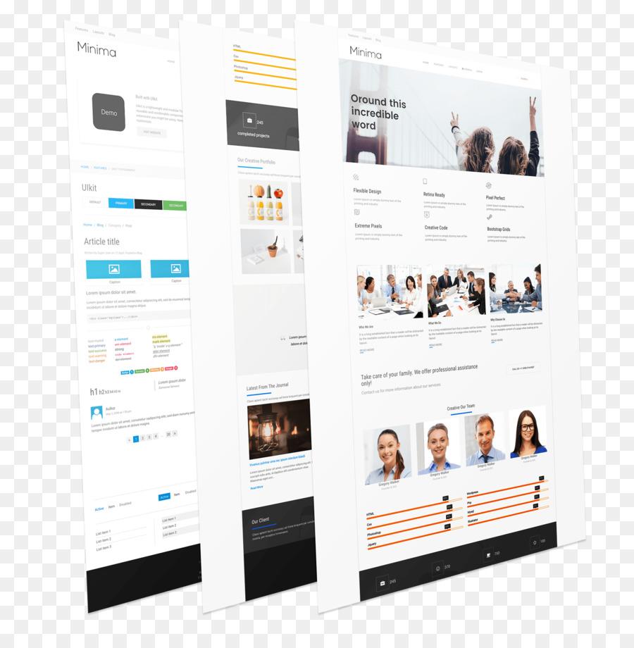 Página Web de diseño de Producto del sitio Web de Visualización de ...
