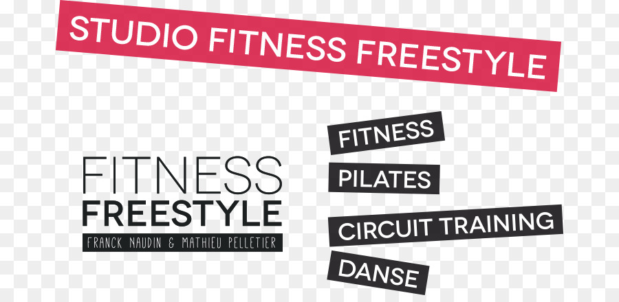 Fitness Freestyle Logo Brand Banner Product design - Fitness Studio ...