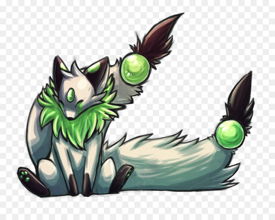 Cat Cartoon Illustration Claw Fauna Kitsune Nine Tailed Fox Png