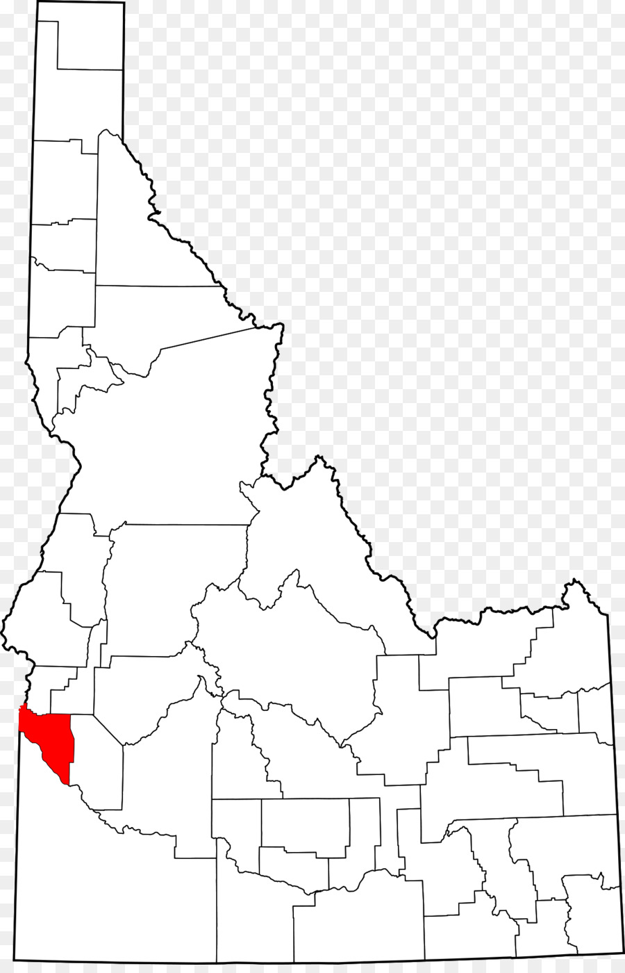 Idaho Map By County.Elmore County Idaho Idaho County Idaho Bear Lake County Idaho