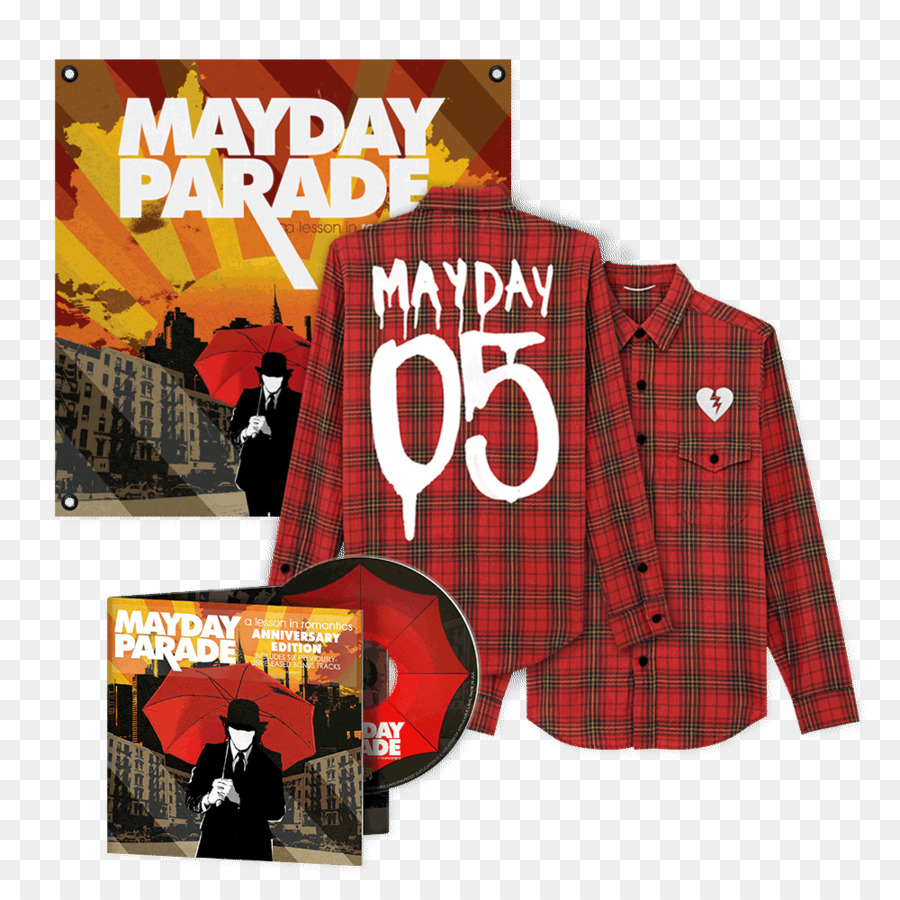 A Lesson In Romantics Mayday Parade Album Phonograph Record Song