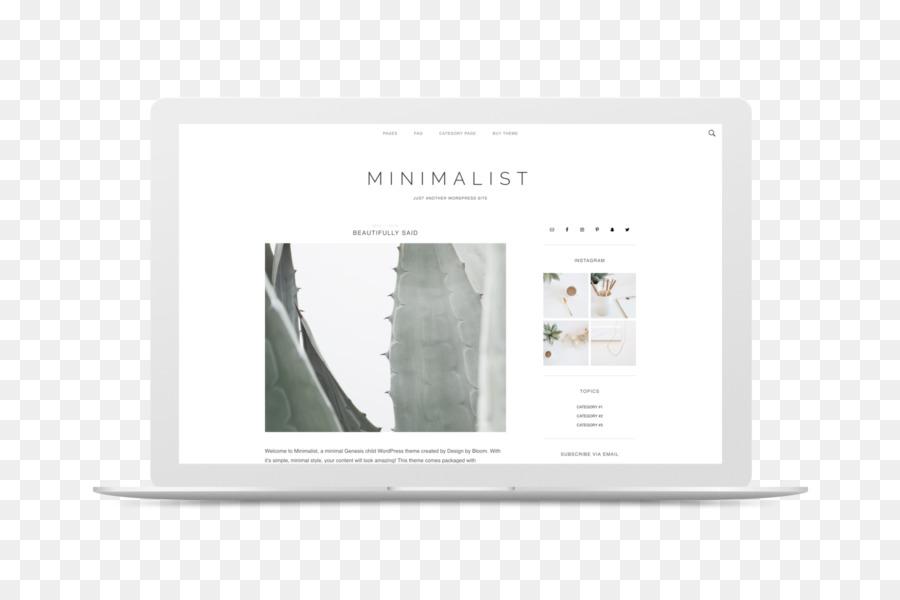 Tema de WordPress papel Tapiz de Desktop de Minimalismo plantilla ...