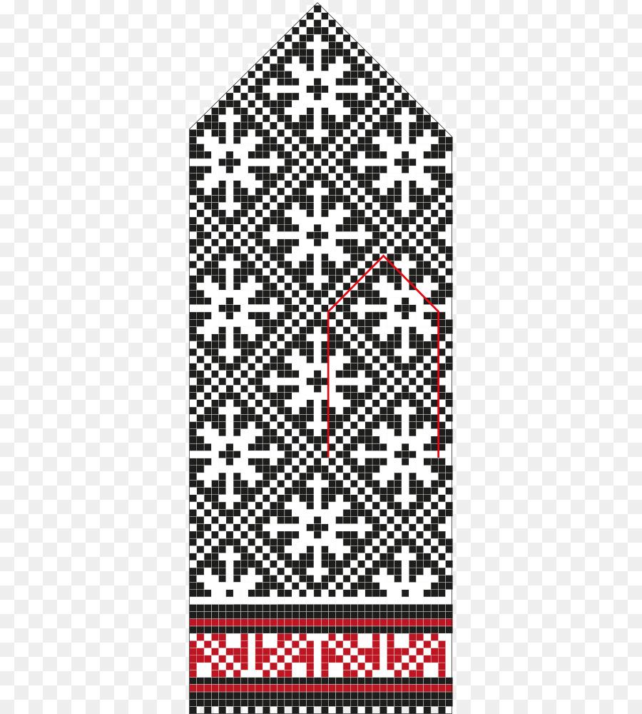 Latvian mittens Knitting pattern Knitting pattern - long pattern png ...