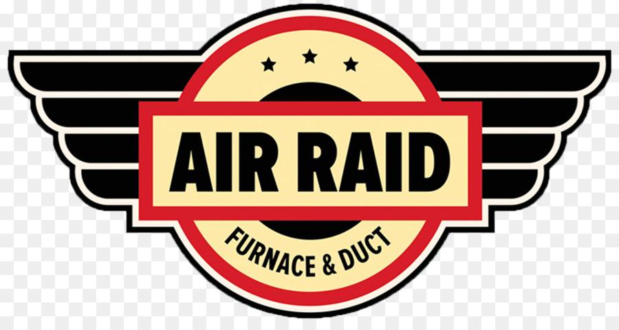 Air Raid Four Et Conduit Logo De La Climatisation