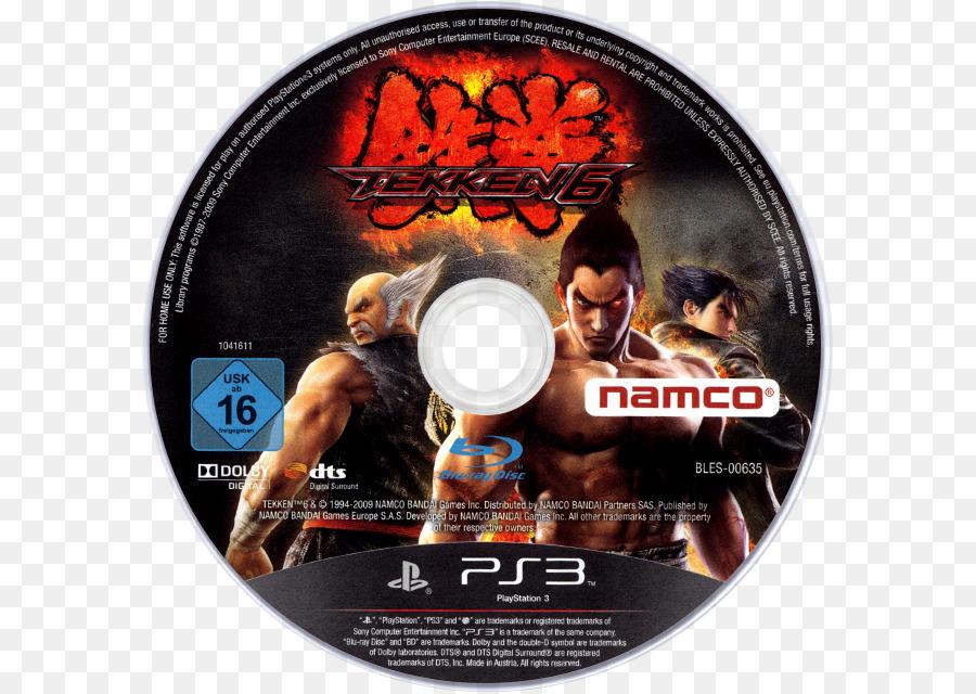 Tekken 6 Dvd png download - 640*640 - Free Transparent Tekken 6 png