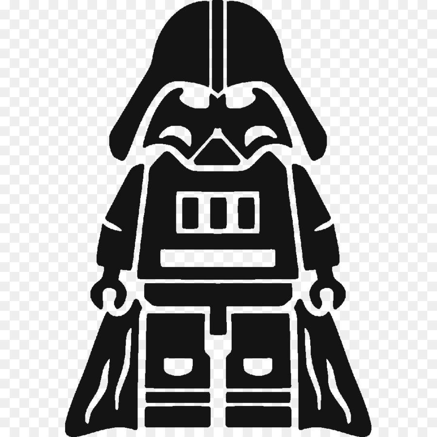 Anakin Skywalker Lego Star Wars Silhouette Boba Fett Drawing Star