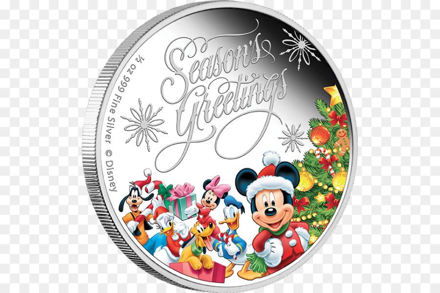 Auguri Di Natale Disney.Mickey Mouse Minnie Paperina Nuova Zelanda Moneta Auguri Di Buone