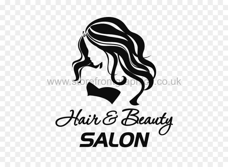 Beauty Parlour Hairdresser Sticker Day Spa