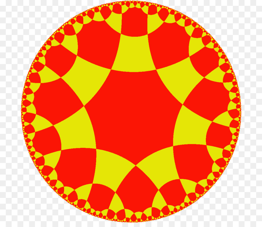 Hyperbolic Geometry Yellow png download - 760*765 - Free Transparent