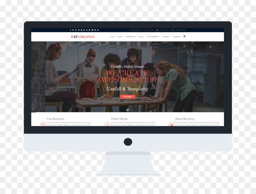 Desarrollo de sitio web Responsive web design Monitores de Ordenador ...