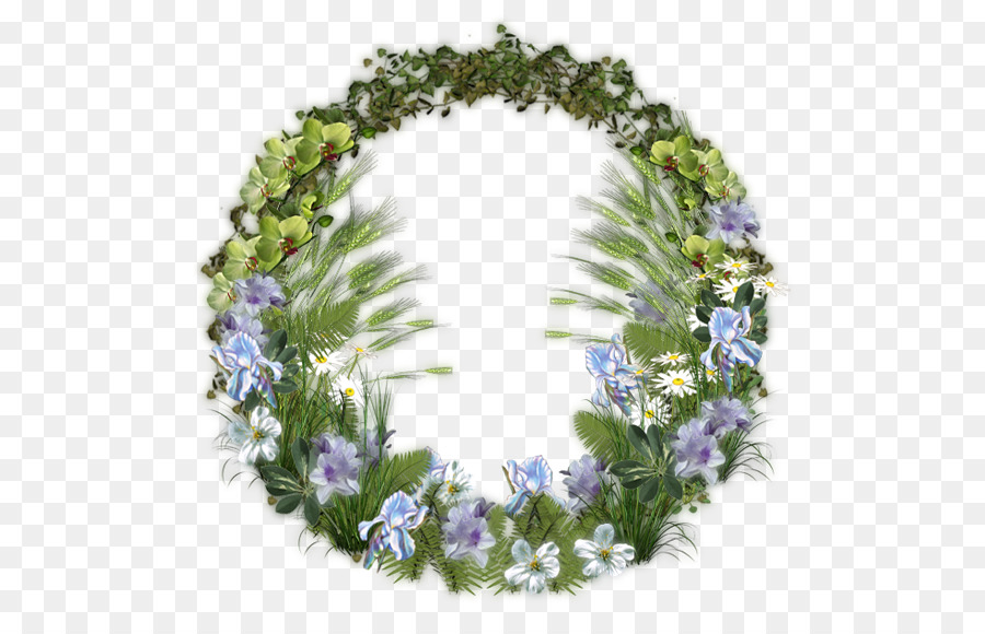 Floral Flower Background png download - 550*567 - Free