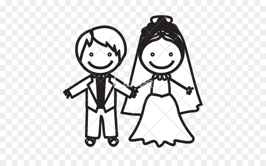 Vector Graphics Bridegroom Clip Art Illustration Bride Png