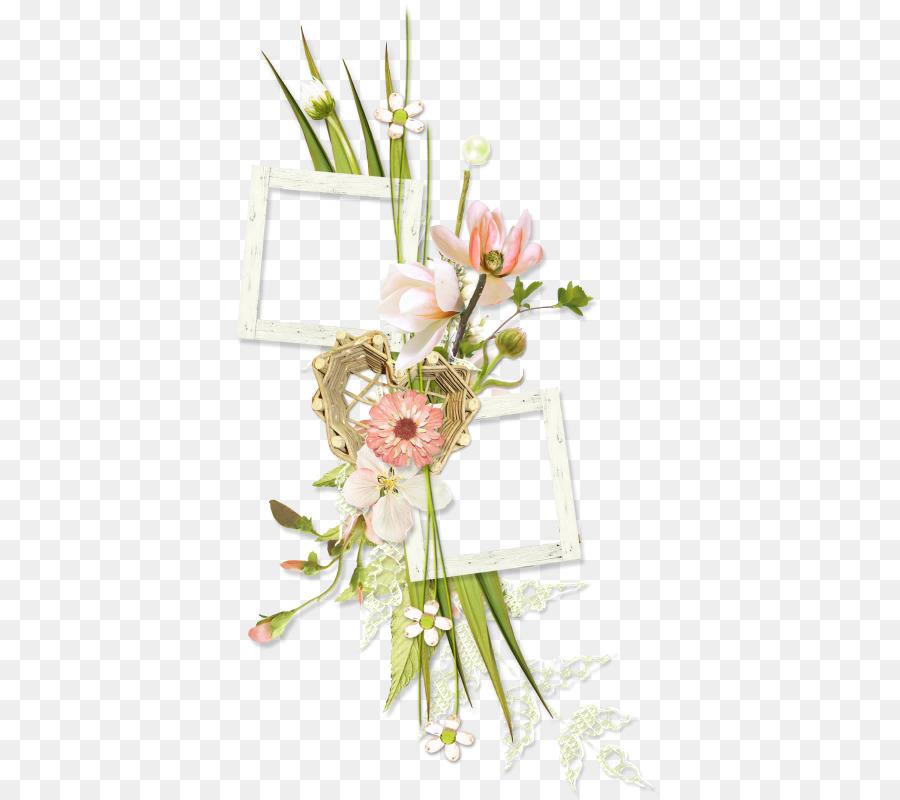 Marcos de diseño Floral de Moldeo de Imágenes Clip art - flores en ...