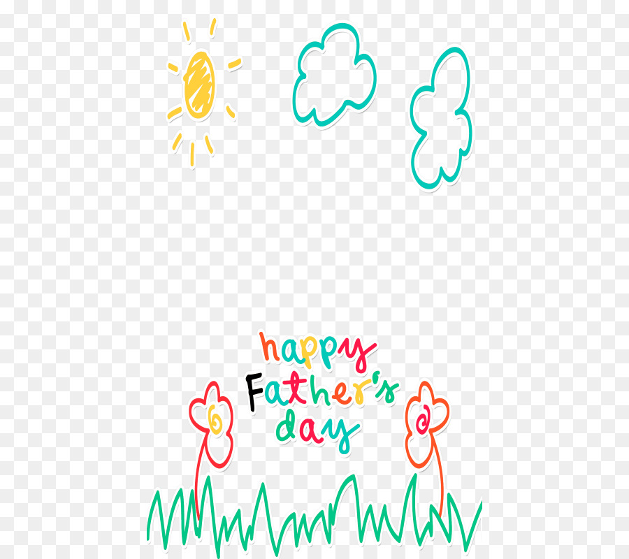 Greeting & Note Cards Father\'s Day Picture Frames Clip art - Happy ...