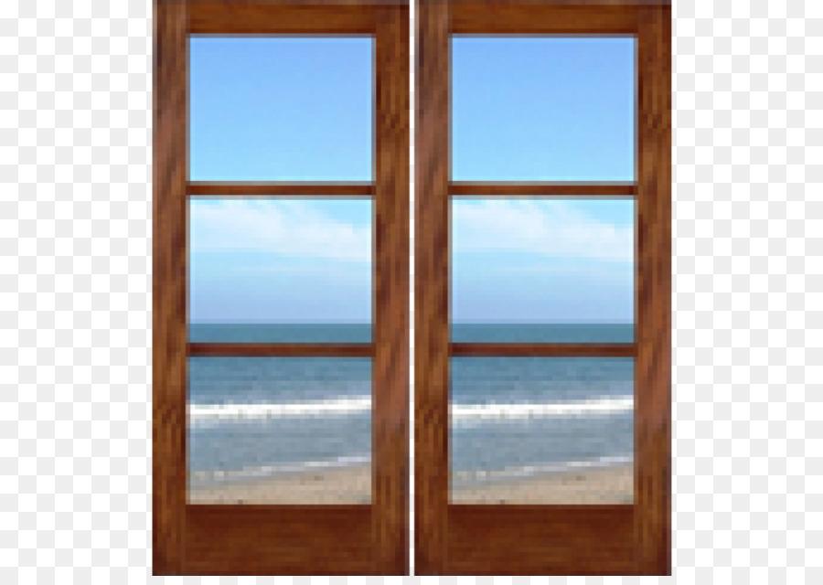 Fenster-beize, Lack Bilderrahmen - transparenter Glas Türen png ...