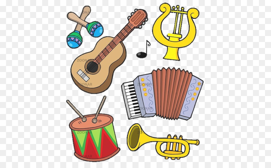 Musical Instruments Vector Graphics Image Cartoon