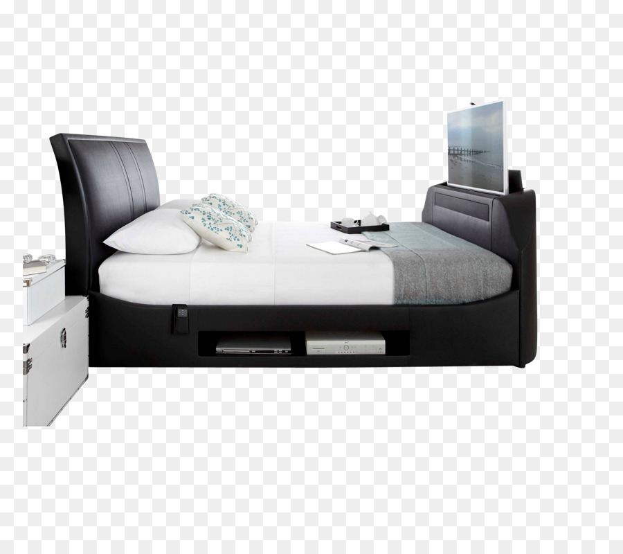 Bed frame Foot Rests Television Headboard - scroll bar png download ...