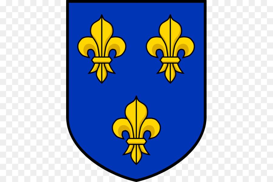 National Emblem Of France Flag And Coat Of Arms Of Le De France