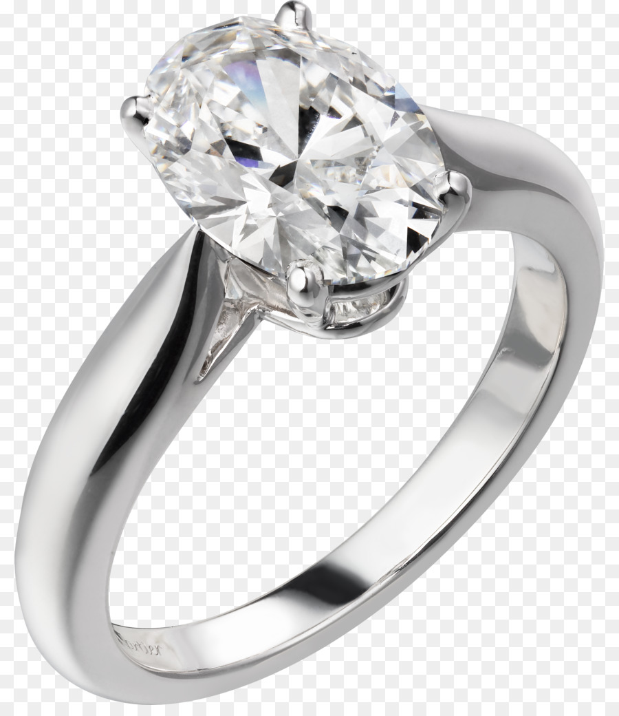 Engagement Ring Diamond Cartier Jewellery Ring Png Download 857