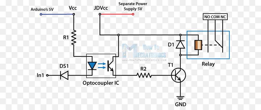 relay wiring diagram circuit diagram schematic electronic circuit rh kisspng com Circuit Board Parts Diagram Name Spa Circuit Board Wiring Diagram