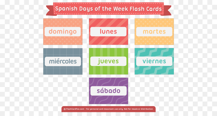 Calendar Days Of The Week In Spanish.Flashcard Text Png Download 600 464 Free Transparent Flashcard