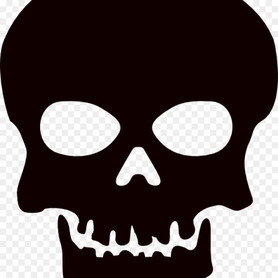 clip art skull and crossbones openclipart calavera skull png rh kisspng com clip art skull clip art skull and crossbones free