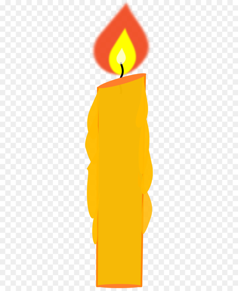 Clip Art Birthday Candles Openclipart Image Candle Png Download