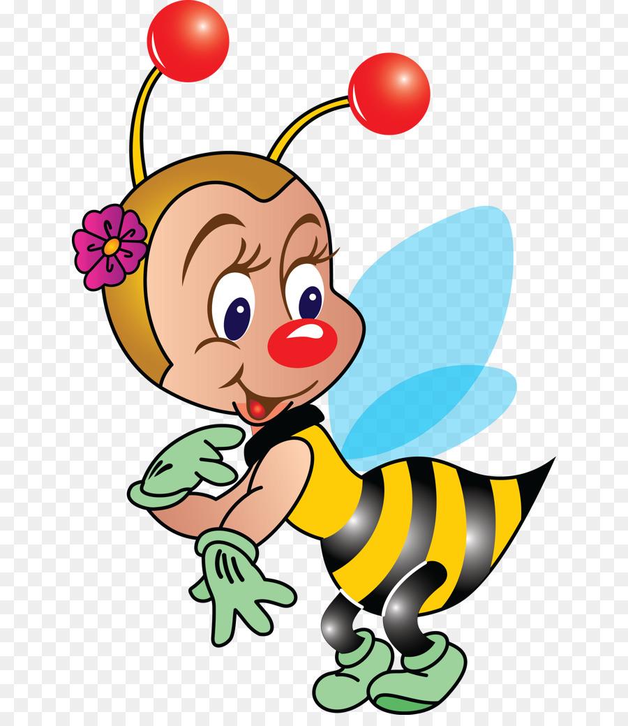 Klip Seni Ilustrasi Gambar Sore Hari Lebah Terbang Clipart Unduh