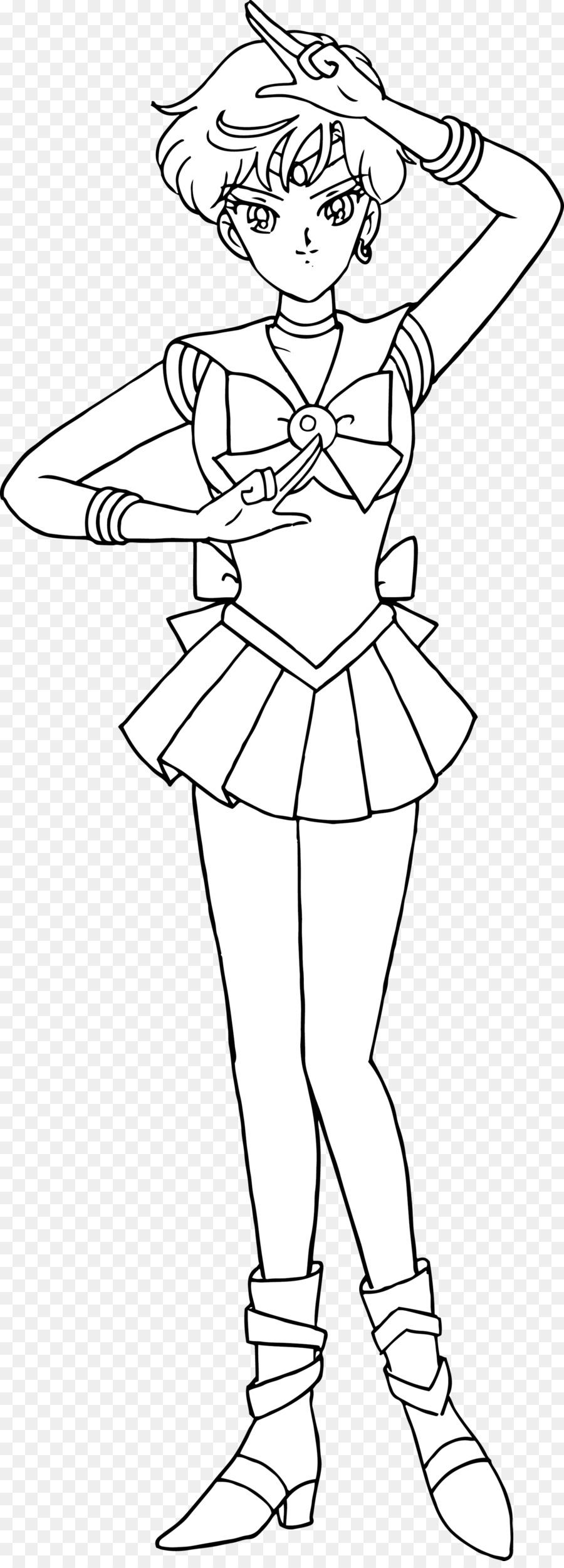 Sailor Urano Sailor Neptune Sailor Mars Libro Da Colorare Di Sailor