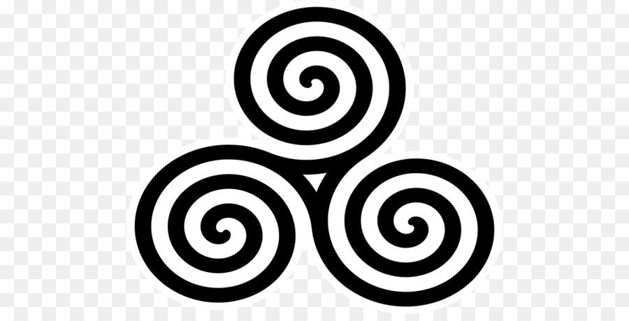 Triskelion Celtic Knot Symbol Celts Spiral Symbol Png Download